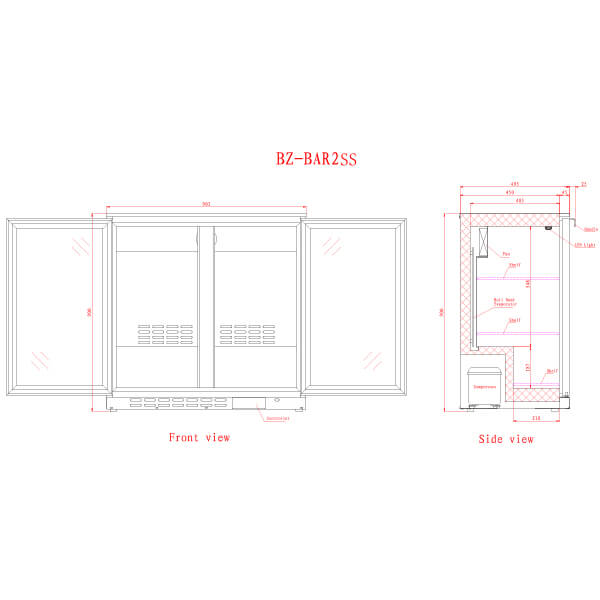 BAR2SS 2 Catering Equipment