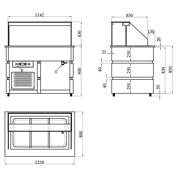BCD1250 3 Catering Equipment