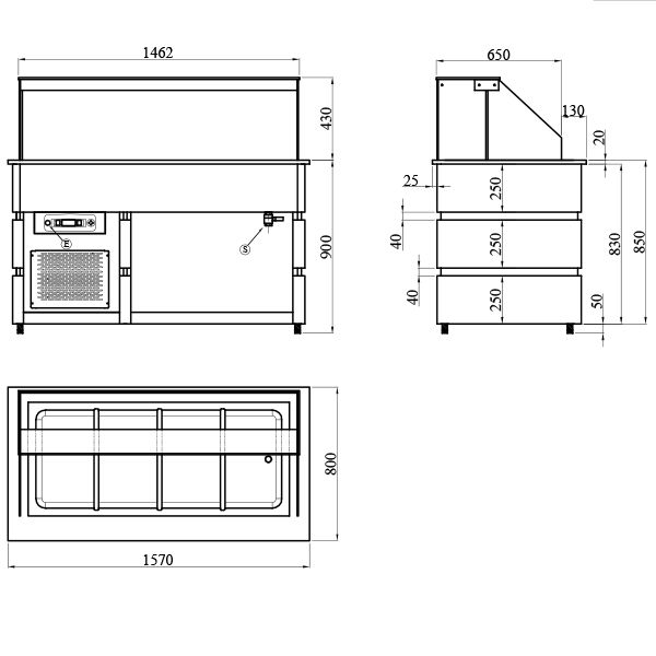 BCD1570 2 Catering Equipment