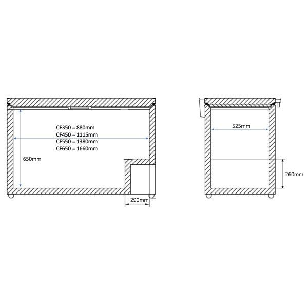 CF550SS 4 1 Catering Equipment