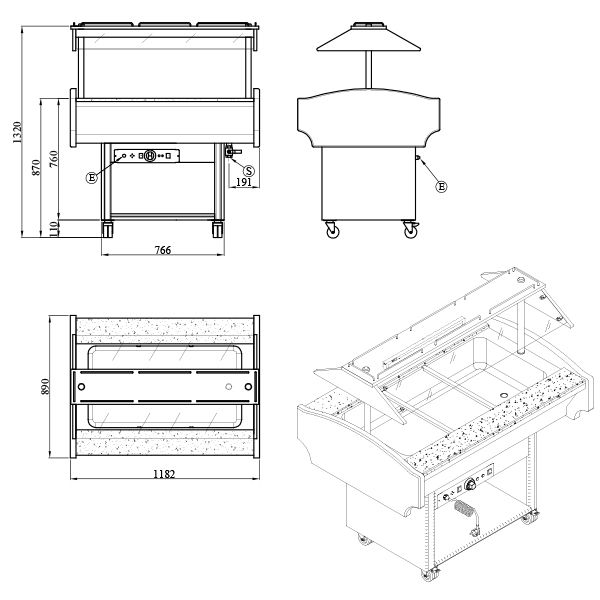 GB3 COLD 2 Catering Equipment
