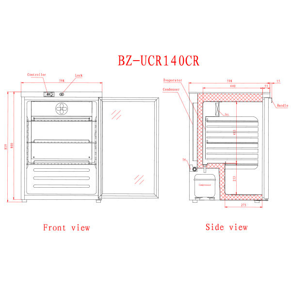 UCR140CR 2 Catering Equipment