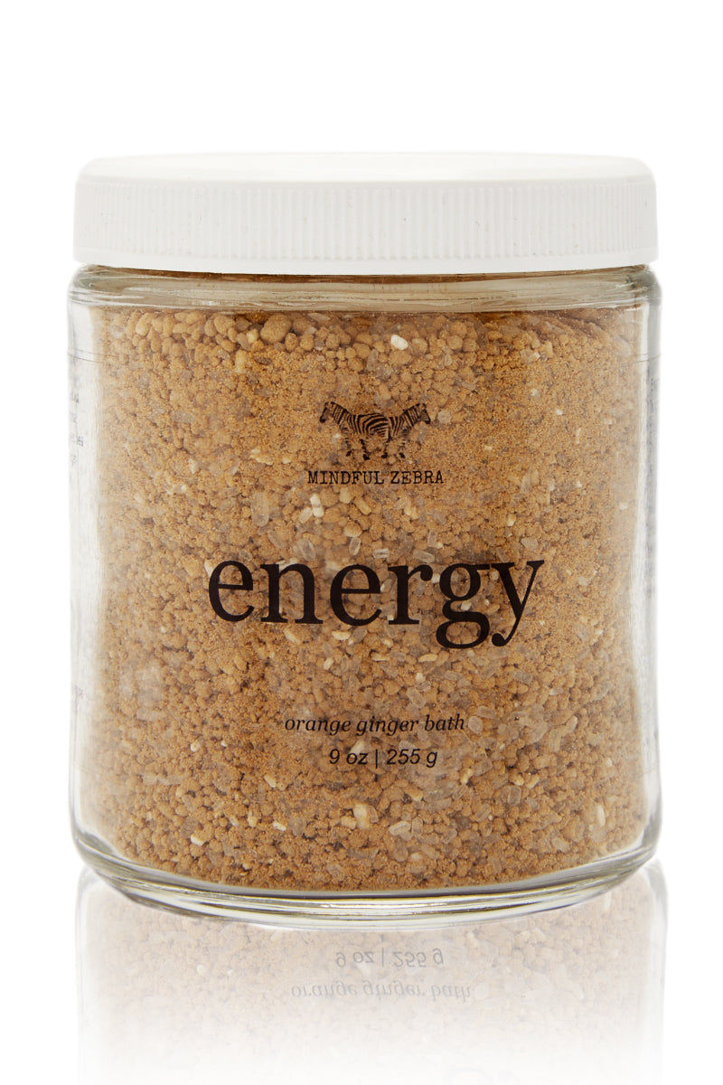 MINDFUL ZEBRA Energy Orange Ginger Bath Beauty | Energy Orange Ginger Bath