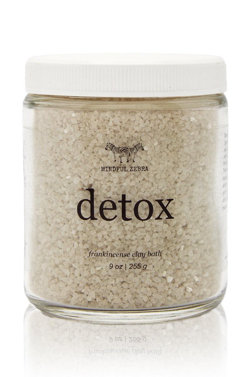 MINDFUL ZEBRA Detox Frankincense Clay Bath Beauty | Detox Frankincense Clay Bath