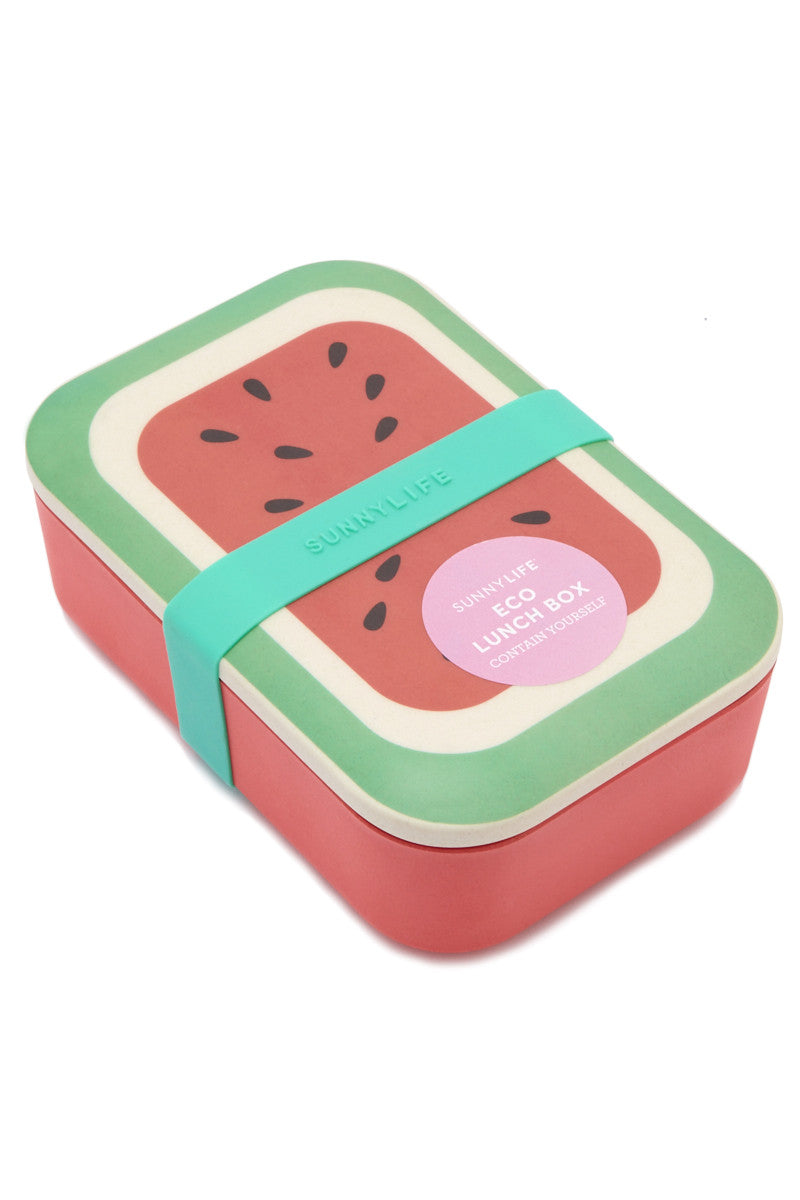SUNNYLIFE Watermelon Eco Lunch Box Accessories | Watermelon| sunnylife eco lunch box