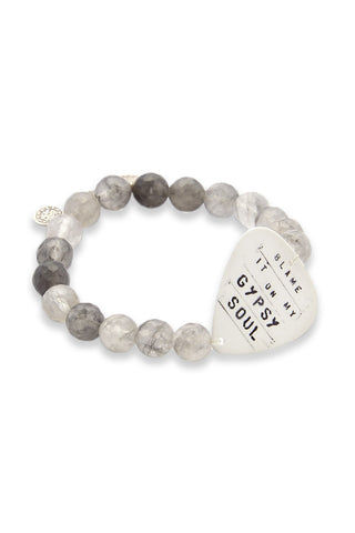 ELECTRIC PICKS Gypsy Soul Bracelet Jewelry | Grey Quartz| Electric Picks Gypsy Soul