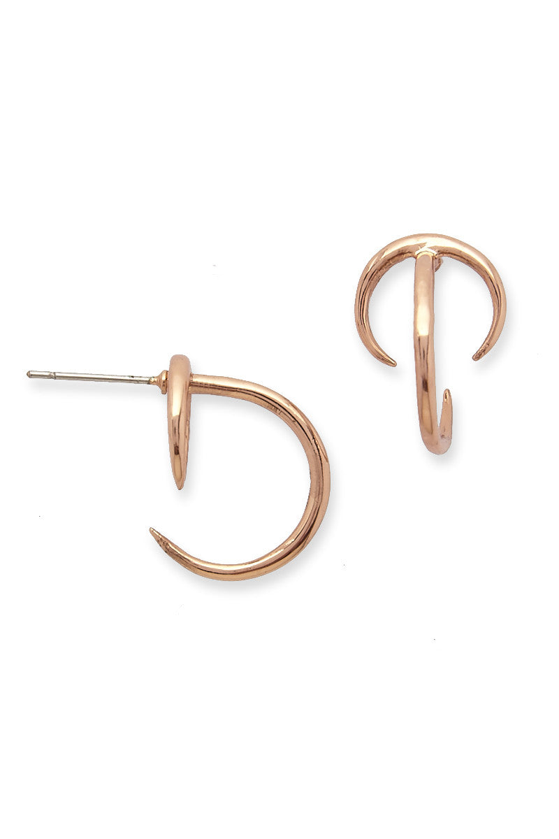 luv gold gem loop products by aj scattered x earings for earrings