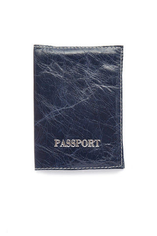 BLYTHE LEONARD Royal Blue Passport Cover Accessories | Royal Blue| Blythe Leonard Royal Blue Passport Cover