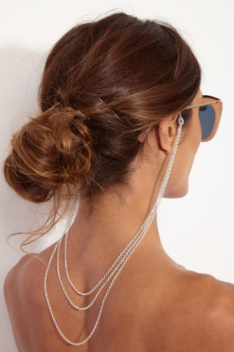SINTILLIA Silver Chain Lace Accessories | Silver| Sintillia Silver Chain Lace