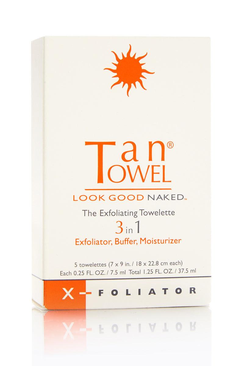 TAN TOWEL X-Foliator Beauty   X-Foliator