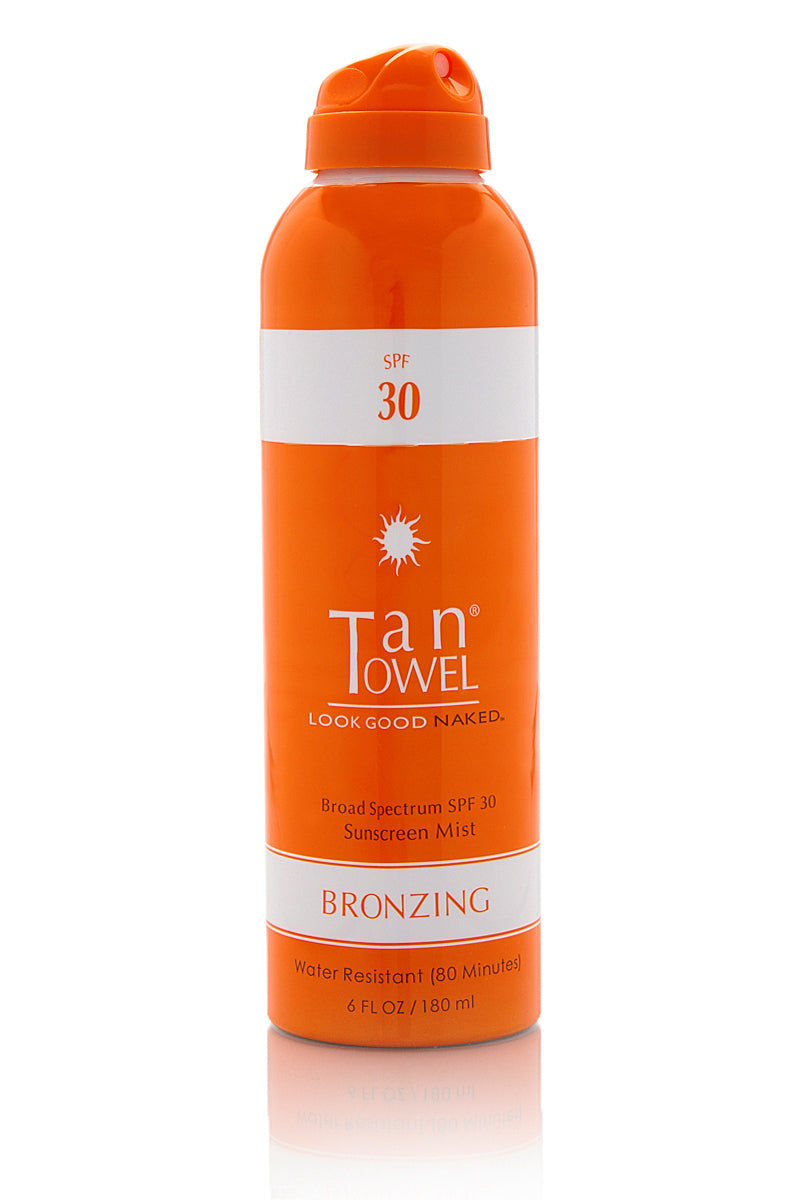 TAN TOWEL SPF 30 Bronzing Spray Beauty | SPF 30 Bronzing Spray