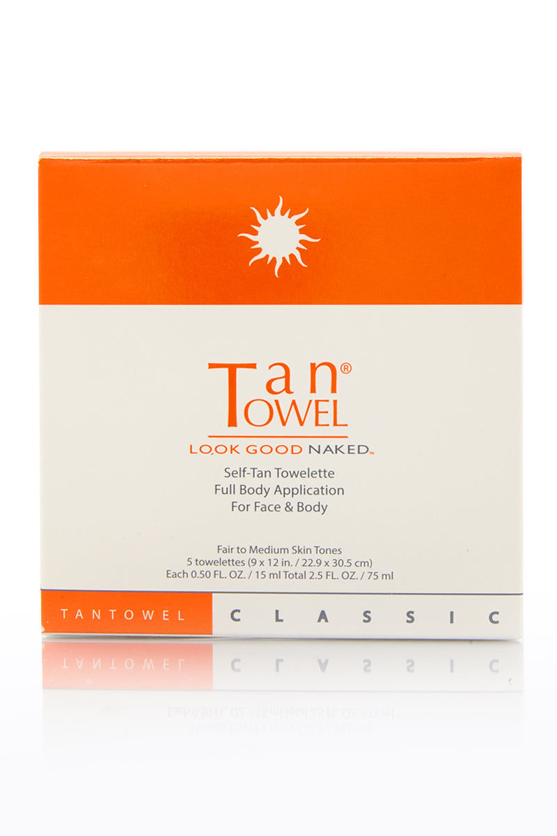 TAN TOWEL Full Body Classic Beauty | Tan Towel Full Body Classic front view
