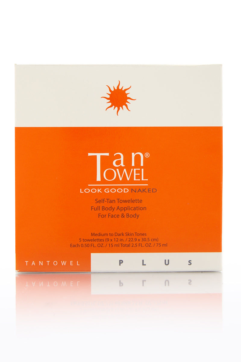 TAN TOWEL Full Body Plus Beauty | Tan Towel Full Body Plus front view