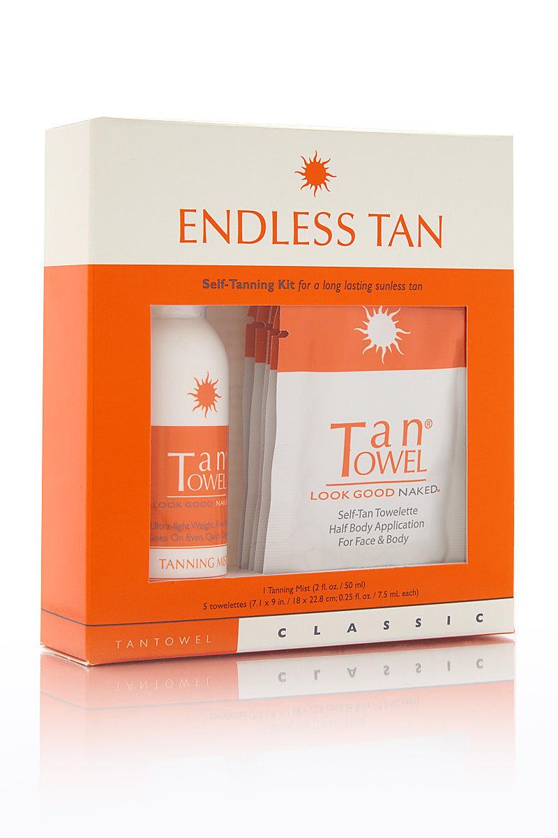 TAN TOWEL Endless Tan Classic Kit Beauty | Tan Towel Endless Tan Classic Kit front view
