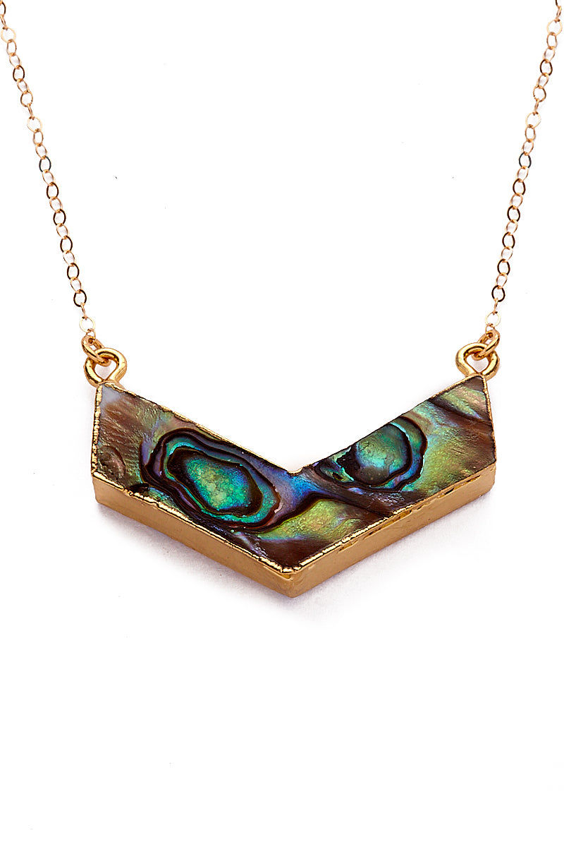 TOASTED Gold Reversible Iwi Necklace Jewelry | Gold Reversible Iwi Necklace