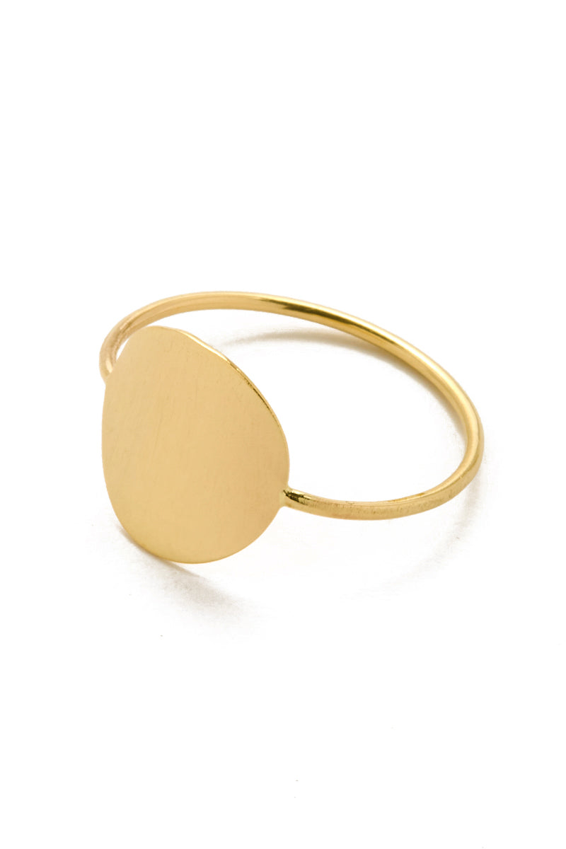 PARADIGM DESIGN Gold Singularity Ring Jewelry | Gold| Gold Singularity Ring