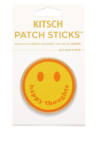 KITSCH Smiley Face Patch Stick Accessories | Smiley Face Patch Stick