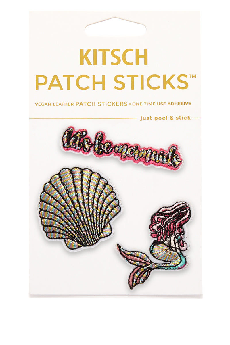 KITSCH Let's Be Mermaids Patch Sticks Accessories | Let's Be Mermaids Patch Sticks