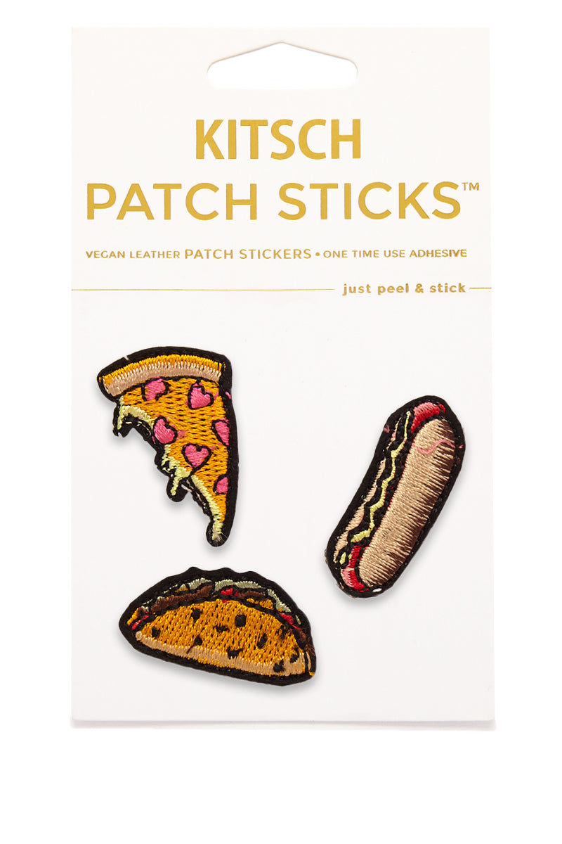 KITSCH Favorite Foods Patch Sticks Accessories | Favorite Foods Patch Sticks