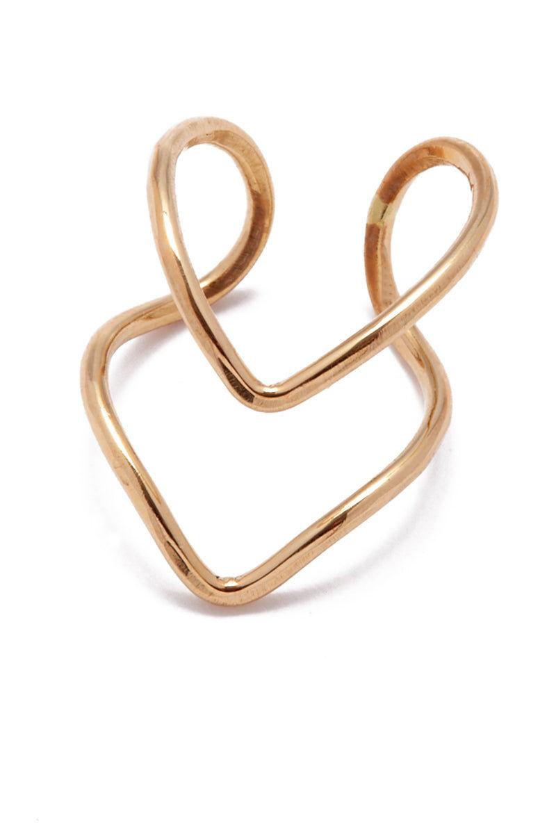 PARADIGM DESIGN Gold Division Ring Jewelry | Gold| Paradigm Design Gold Division Ring