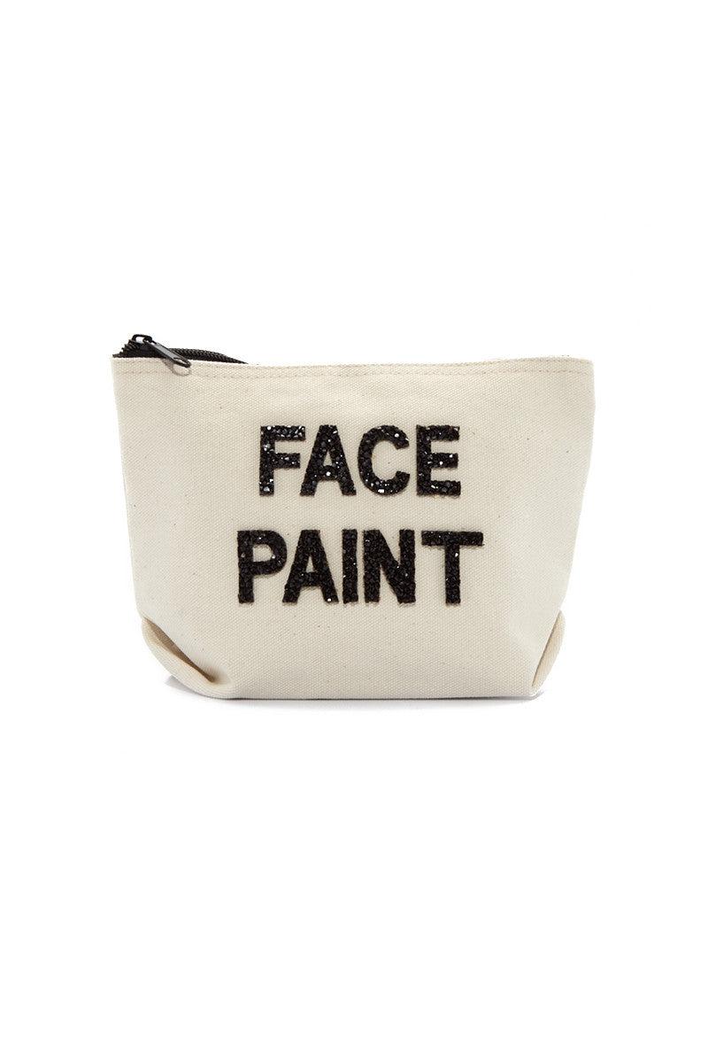 FALLON AND ROYCE Face Paint Cosmetic Bag Bag | Face Paint Cosmetic Bag