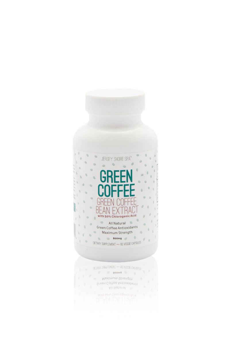 Jersey Shore Cosmetics Pure Green Coffee Bean Extract Bikinicom White Beauty