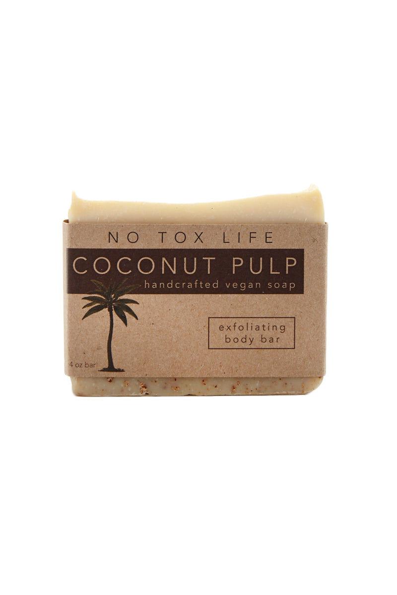 NO TOX LIFE Coconut Exfoliating Juice Pulp Bar Beauty | Coconut Exfoliating Juice Pulp Bar