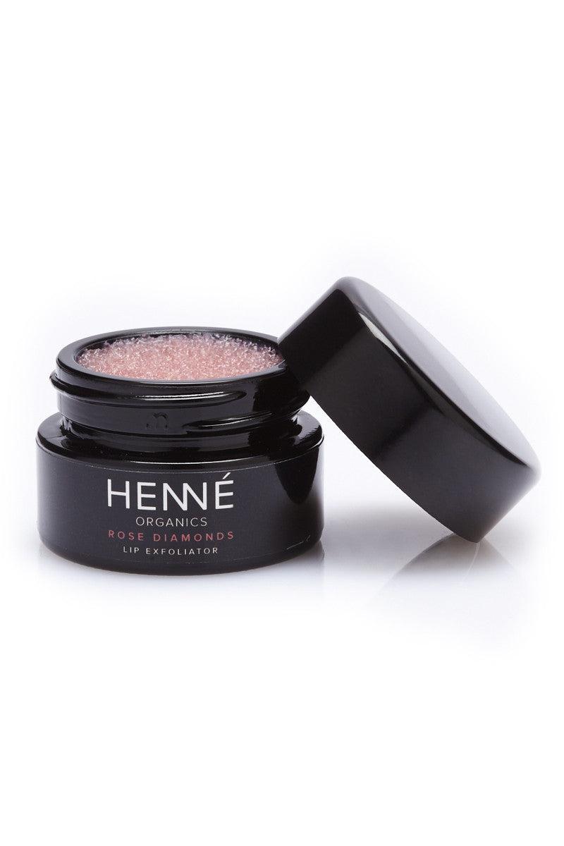 HENNE ORGANICS Rose Diamonds Lip Exfoliator Beauty | Rose Diamonds Lip Exfoliator