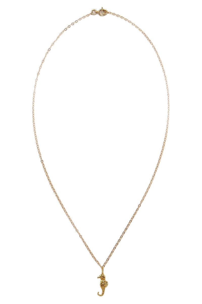 TATIANA KATZOFF Seahorse Necklace Jewelry | Gold| tatiana Katzoff Seahorse Necklace