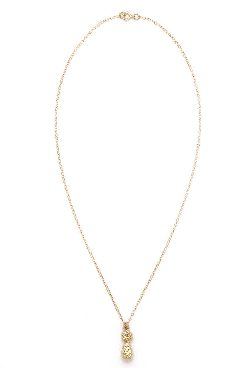 TATIANA KATZOFF Pineapple Necklace Jewelry | Gold| Tatiana Katzoff Pineapple Necklace