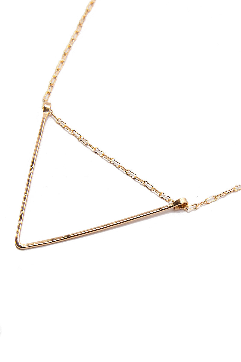 PARADIGM DESIGN Kinetic Necklace Jewelry | Gold| Paradigm Design Gold Kinetic Necklace