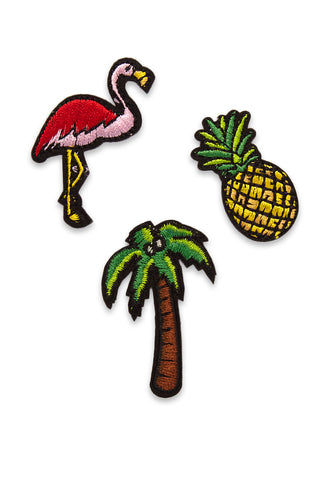 KITSCH Tropical Patch Sticks Accessories | Tropical Patch Sticks