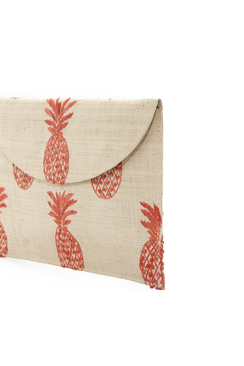 KAYU PINA Clutch - Orange Bag | Orange| KAYU PINA Clutch