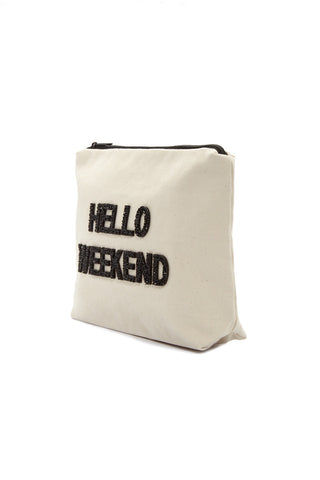 FALLON AND ROYCE Hello Weekend Large Pouch Bag | Hello Weekend Large Pouch