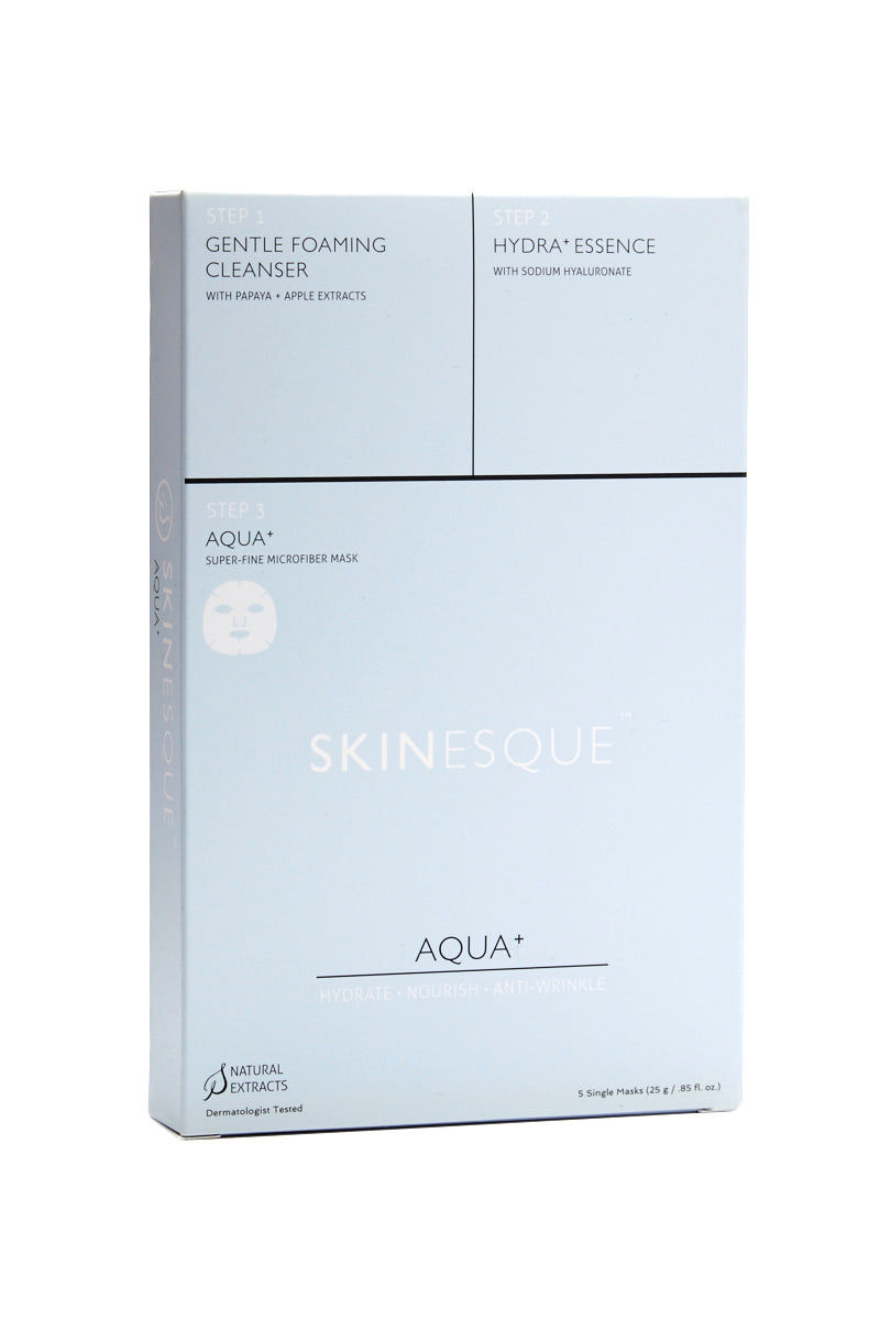 SKINESQUE 3-Step Aqua Mask Beauty | 3-Step Aqua Mask