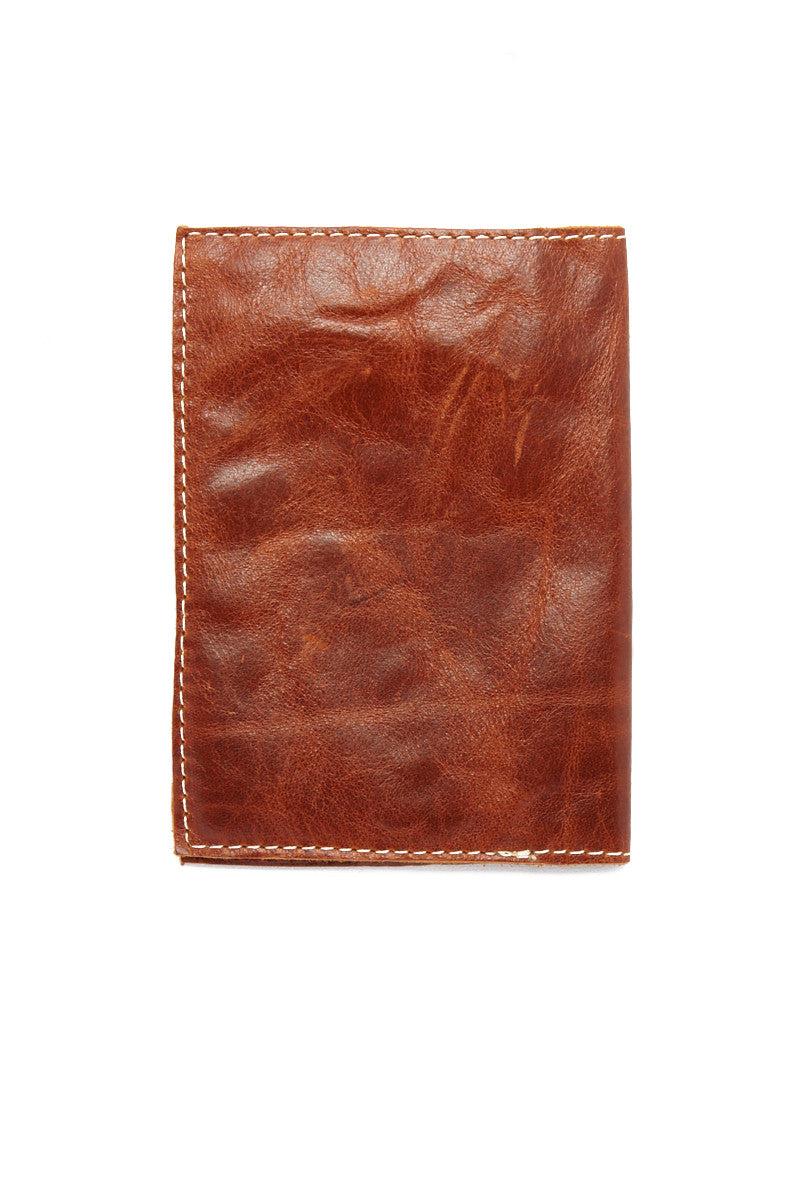 BLYTHE LEONARD Caramel Passport Cover - Caramel/Gold Accessories | Caramel/Gold| Blythe Leonard Caramel Passport Cover