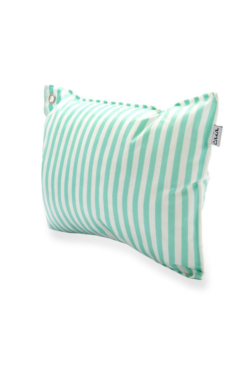 CAIA BEACH PILLOWS Mint Pillow Pillow   Mint Stripe  Caia Mint Pillow