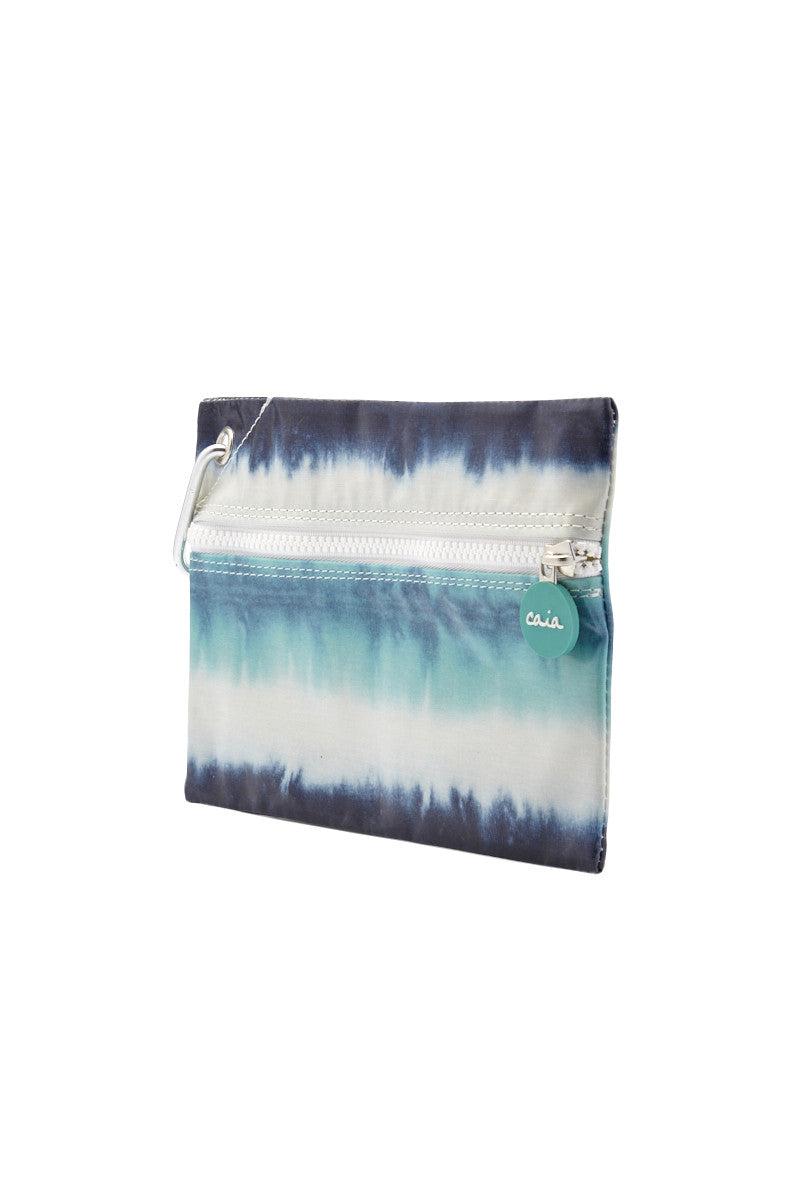 CAIA BEACH PILLOWS Zanzibar  Clutch Bag   Blue Print  Cai Zanzibar Clutch