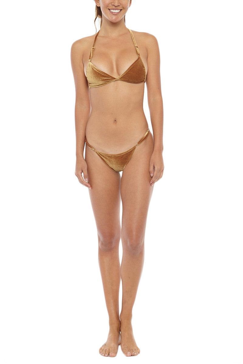 DBRIE Ali Bottom - Marigold/Suncup Bikini Bottom | Marigold/Suncup| Dbrie Ali Bikini Bottom