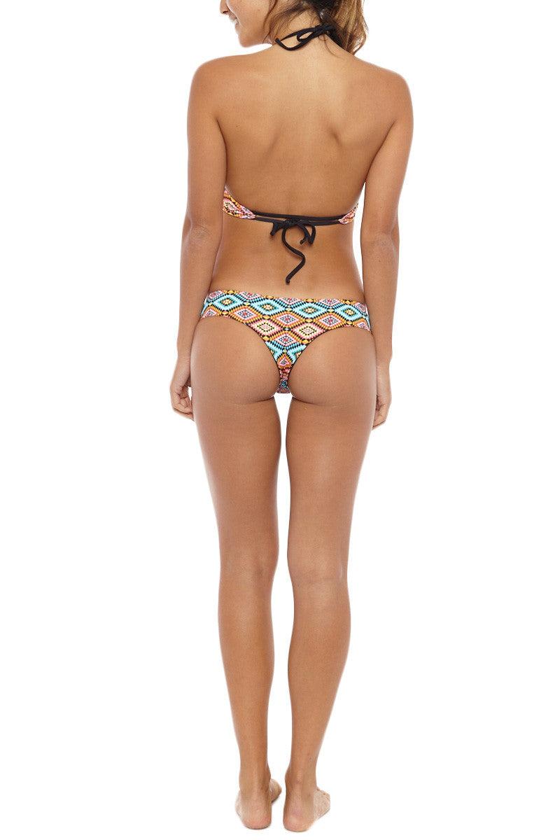 KHONGBOON Kotor Reversible Bottom Bikini Bottom | Multi/Black| Khongboon Kotor Reversible Bottom