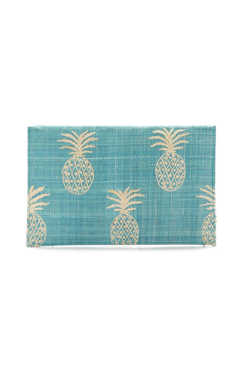 KAYU PINA Clutch - Turquoise Bag   Turquoise  KAYU PINA Clutch