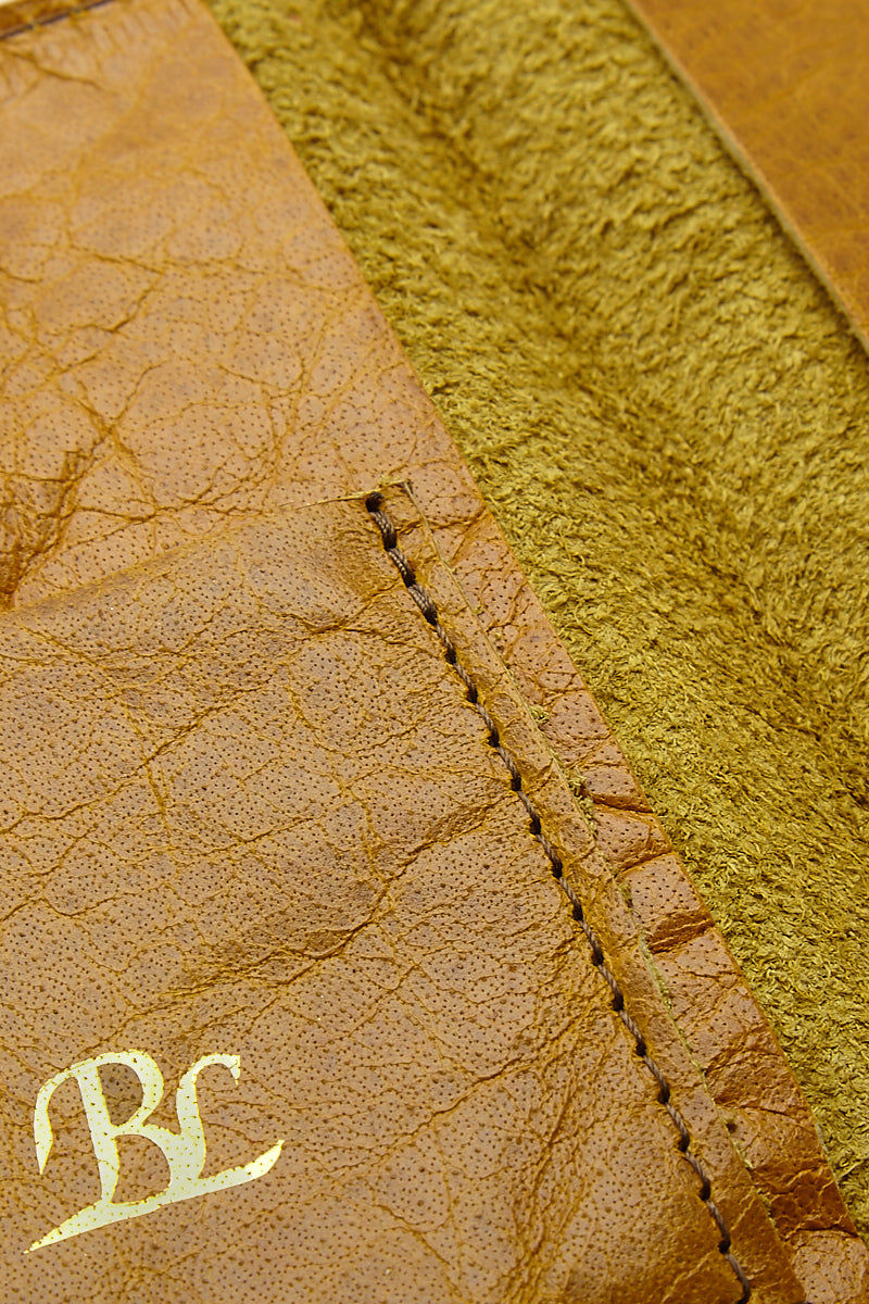 BLYTHE LEONARD Passport Cover - Pineapple Yellow/Gold Accessories | Pineapple Yellow/Gold| Blythe Leonard Passport Cover - Pineapple Yellow/Gold Interior pocket for passport Additional adjacent pocket One Interior card slot patch pocket  Gold embossed lettering  Pineapple yellow leather  Handmade in the US Pattern may vary from picture show Front View