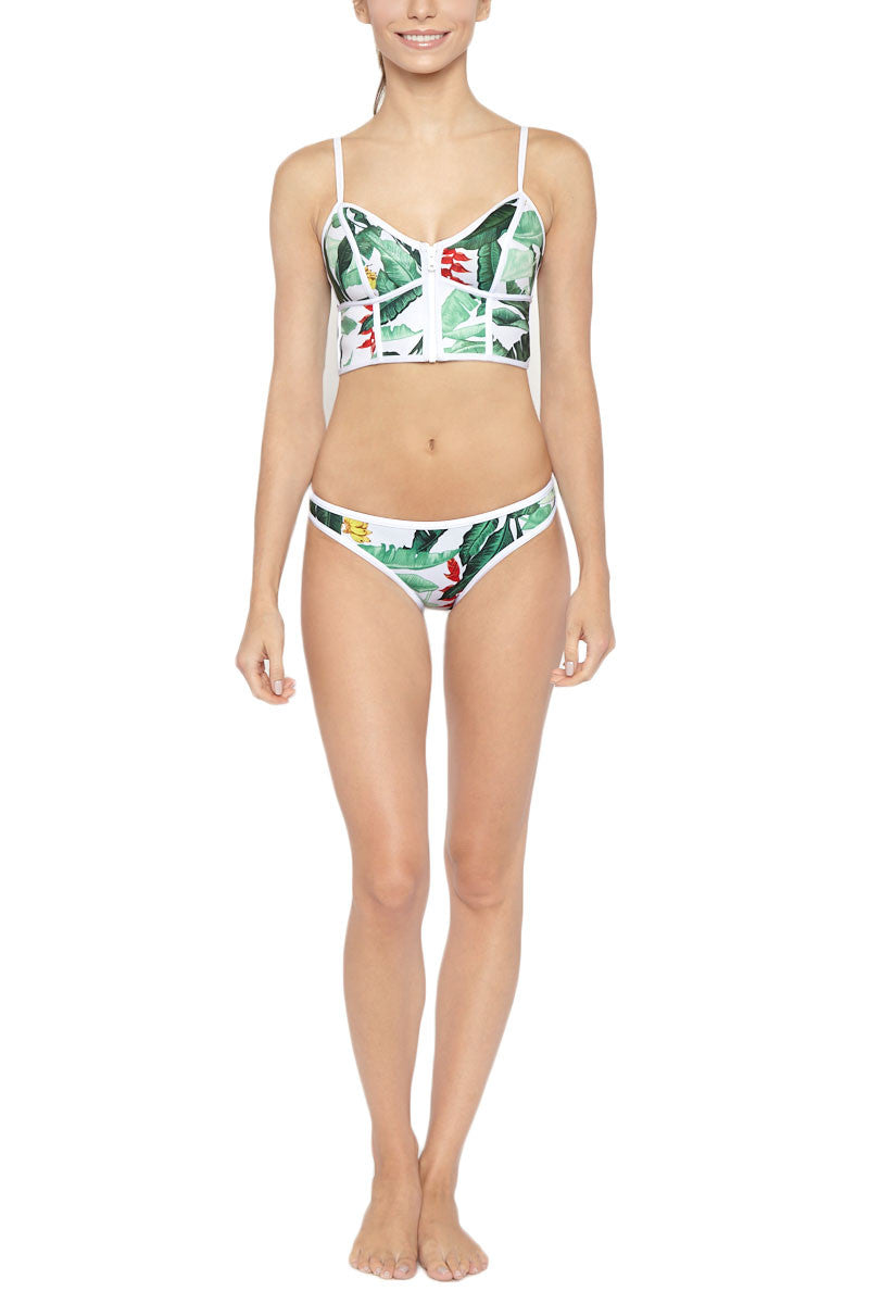 DUSKII Oasis Bustier Bikini Top - Palma Bikini Top | Palma| Duskii Oasis Bustier Bikini Top