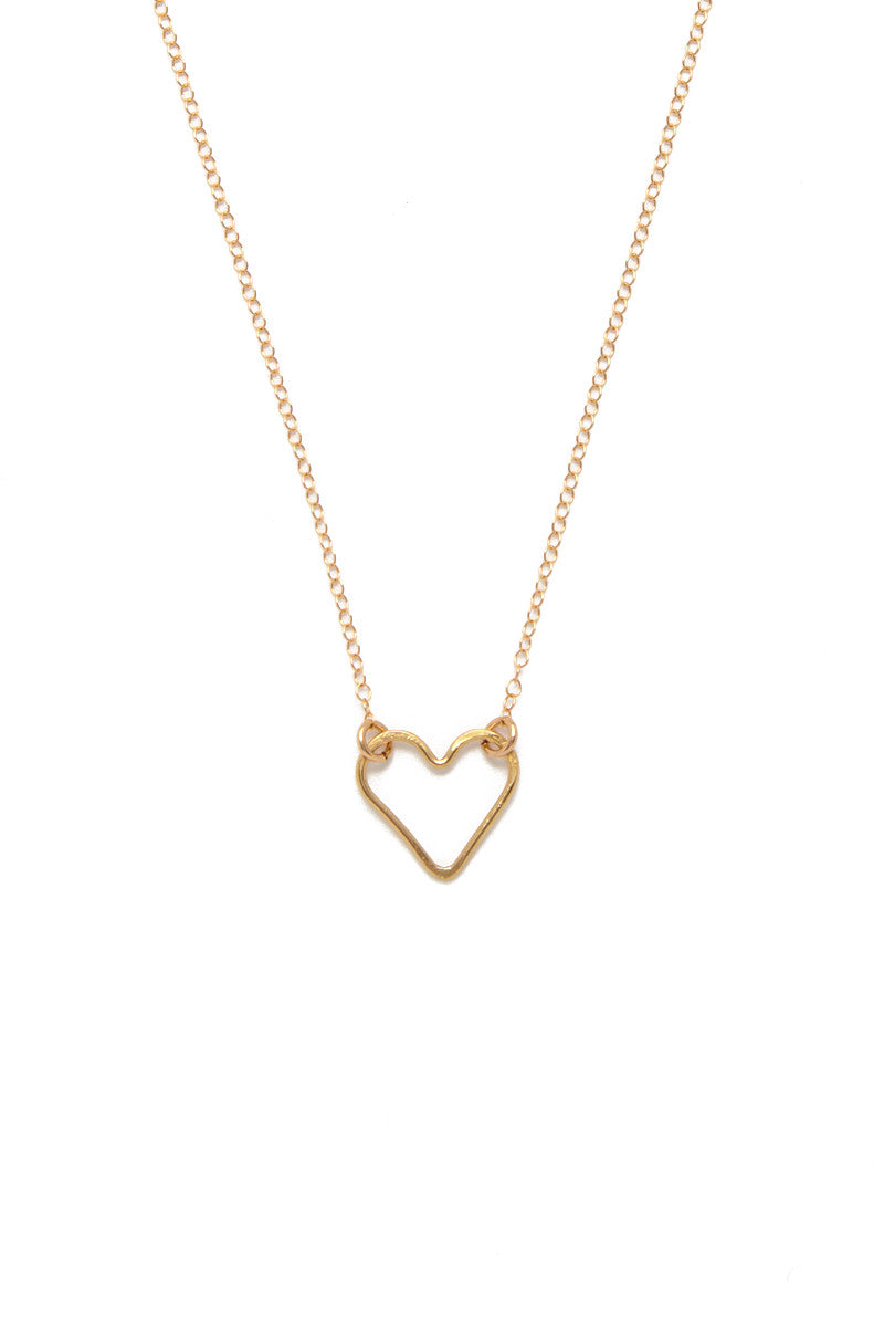 SIMONE JEANETTE Rosa Necklace Jewelry | Gold| Simone Jeanette Rosa Necklace