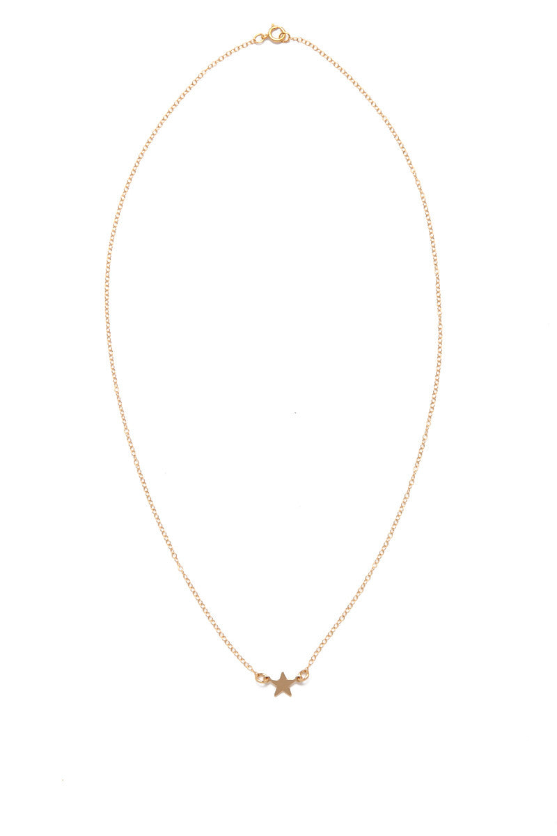 SIMONE JEANETTE Aviva Necklace Jewelry | Gold| Simone Jeanette Aviva Necklace