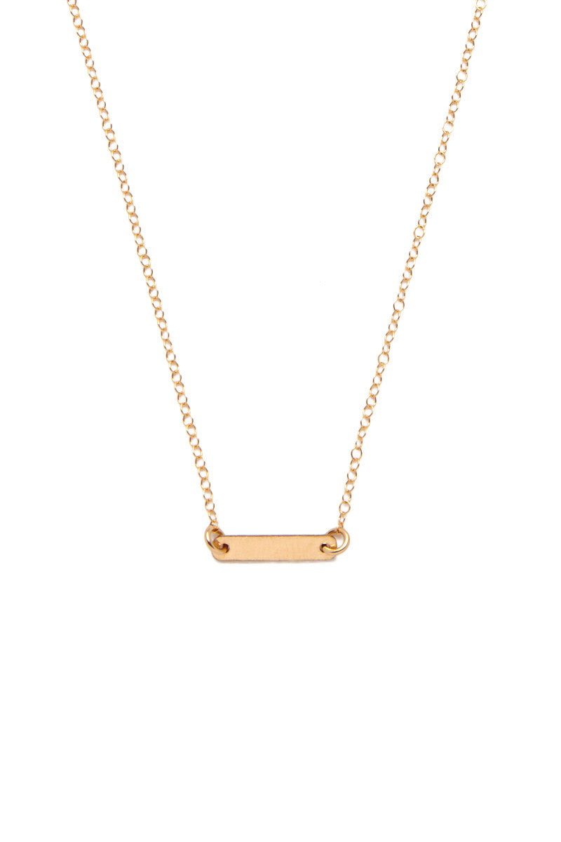 SIMONE JEANETTE Noura Necklace Jewelry | Gold| Simone Jeanette Noura Necklace