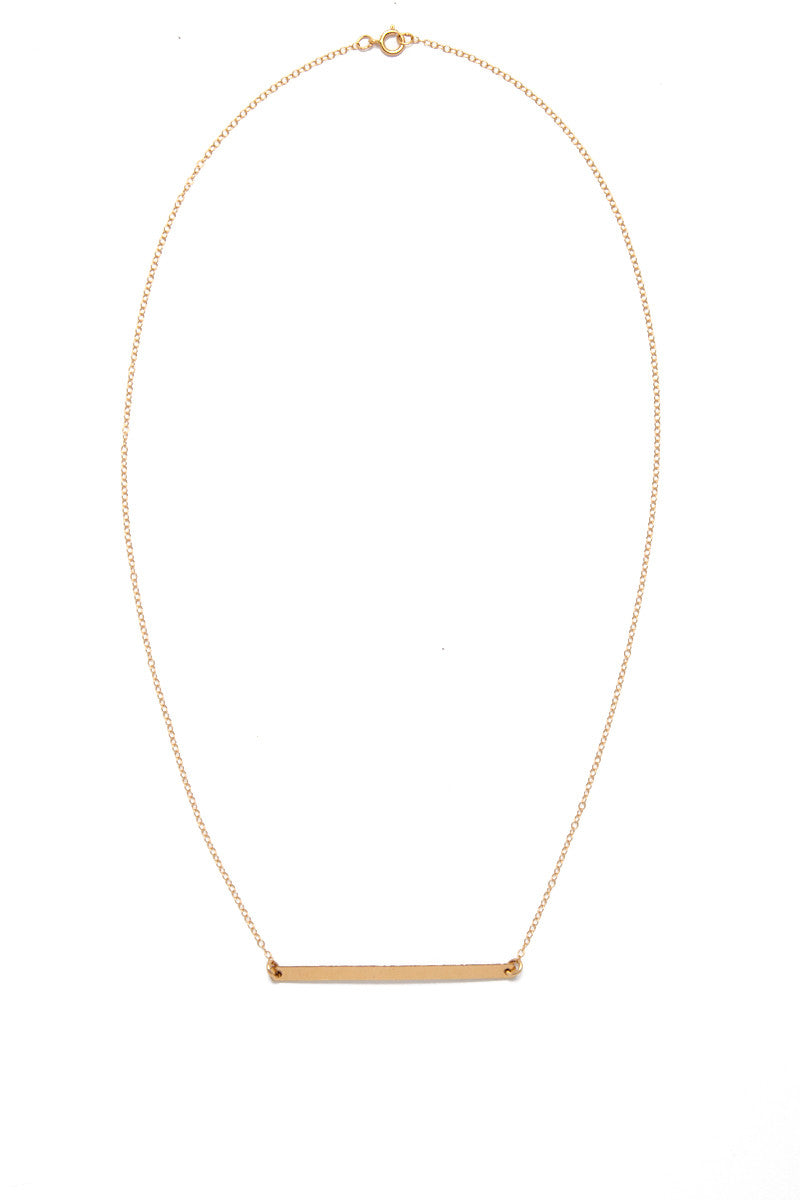 SIMONE JEANETTE Lennon Necklace Jewelry | Gold| Simone Jeanette Lennon Necklace