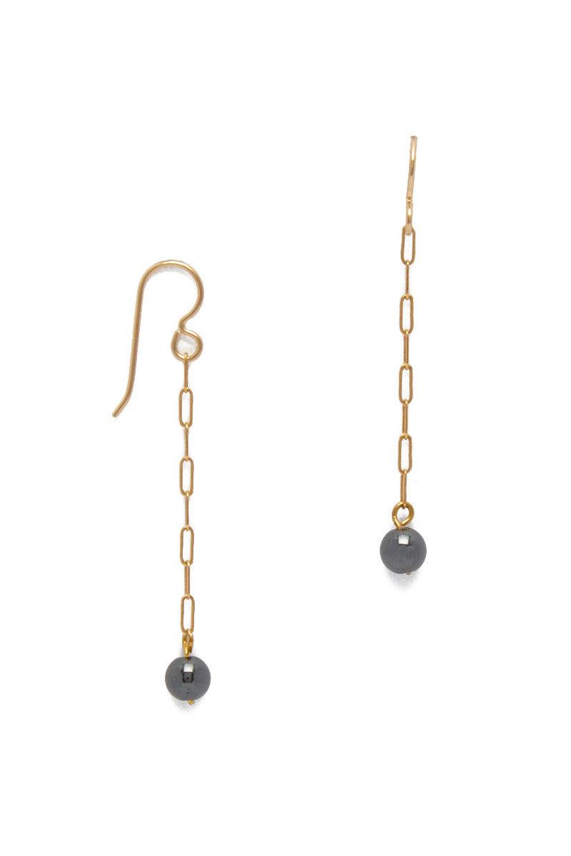 SIMONE JEANETTE Abbott Dangling Earrings - Gold Jewelry | Gold| Simone Jeanette Simone Jeanette Abbott Dangling Earrings - Gold