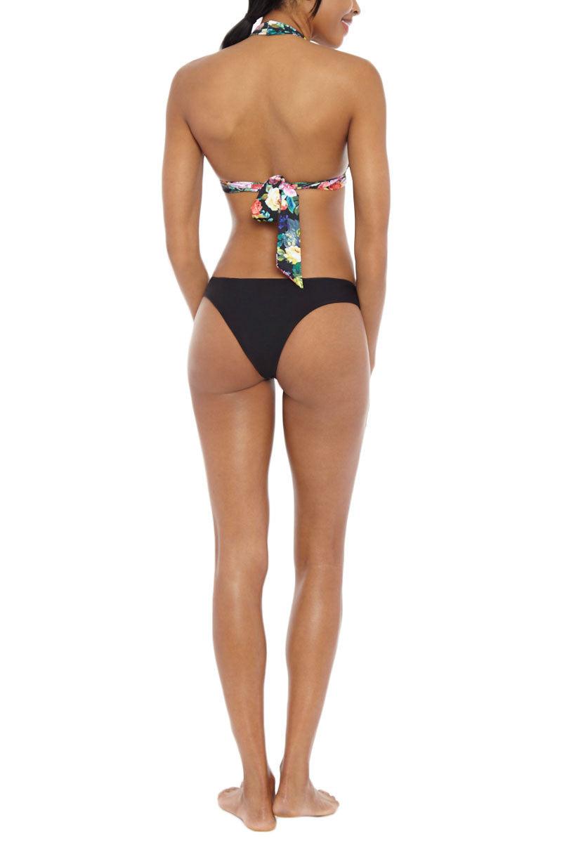 SEAFOLLY Moulded Halter Ties Bikini Top - Floral Bikini Top | Floral| Seafolly Moulded Halter Bikini Top