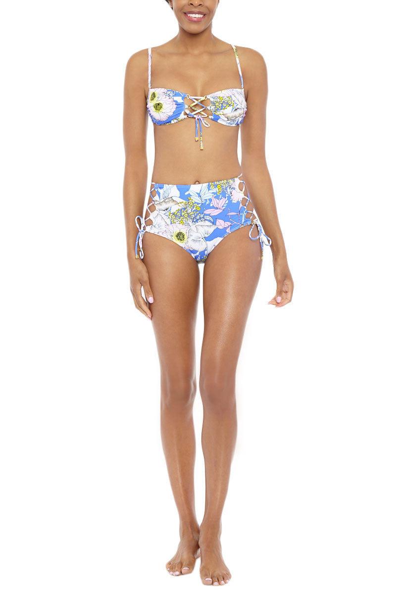 YUMI KIM Retro Chic Bikini Bottom Bikini Bottom | Bora Bora Peri| Yumi Kim Retro Chic Bottom